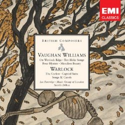 Vaughan Williams: On Wenlock Edge; Ten Blake Songs; Warlock: The Curlew; Capriol Suite