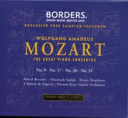 Mozart: The Great Piano Concertos [Exclusive Free Sampler Included]