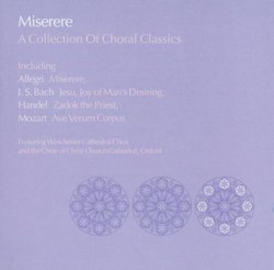 Miserere: Collection of Choral Classics