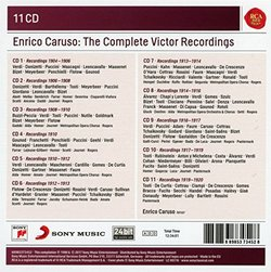 Enrico Caruso - The Complete Victor Recordings [Box Set]