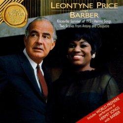 Leontyne Price Sings Barber