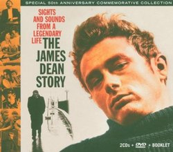 The James Dean Story [CDs & DVD] [Box Set]