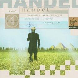 Handel - Messiah · Israel In Egypt / Taverner Choir & Players, Parrott