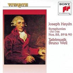 Symphonies 88-90