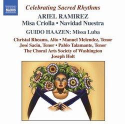 Ramirez:  Misa Criolla; Navidad Nuestra