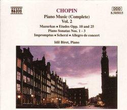 Chopin: Piano Music (Complete), Vol. 2 (Box Set)