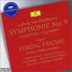 "Beethoven: Symphonie No. 9; Overture ""Egmont"""
