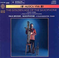Paul Brodie The Golden Age of the Saxophone (CBC)