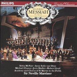 Handel: Messiah / Sir Neville Marriner