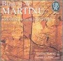 Martinu:  Sonate No 1 pour alto et piano / Rebecca Clarke: Sonata for viola & piano / Reger: Three Suites for Viola Solo Op. 131d