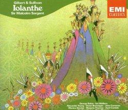 Gilbert & Sullivan: Iolanthe & Sullivan: Overtuire Di Ballo (EMI)