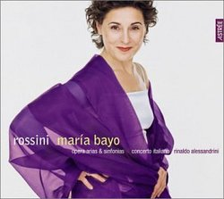 Rossini: Opera Arias and Overtures with Maria Bayo and Rinaldo Alessandrini