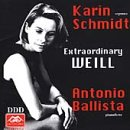 Extraordinary Weill: 13 Selections