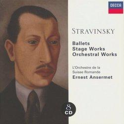 Stravinsky: Ballets; Stage Works; Orchestral Works [Box Set]