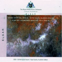Elgar: 'Enigma' Variations Op.36; In The South; Pomp & Circumstance March No. 4 [Germany]