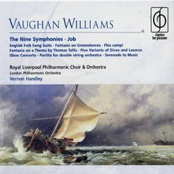 Vaughan Williams: The Nine Symphonies; Job (Box Set)