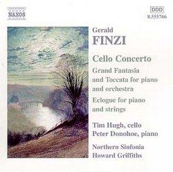 Finzi: Cello Concerto; Grand Fantasia & Toccata; Eclogue