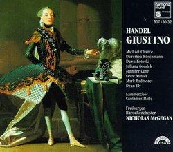 Handel - Giustino / Chance · Röschmann · Kotoski · Gondek · Lane · Minter · Padmore · Ely · McGegan