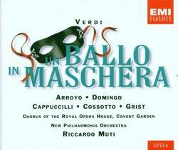 Verdi - Un ballo in maschera / Arroyo · Domingo · Cappuccilli · Cossotto · Grist · NPO · Muti