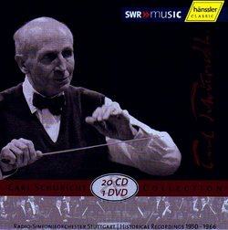 Carl Schuricht Collection [20 CDs/1 DVD] [Box Set]