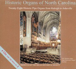 Historic Organs of North Carolina
