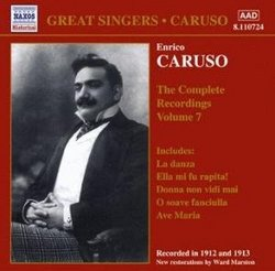 Enrico Caruso: The Complete Recordings, Vol. 7
