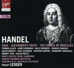 Handel: Saul; Alexander's Feast; The Choice of Hercules [Box Set]