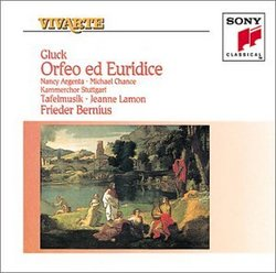 Gluck - Orfeo ed Euridice / Argenta · Chance · Tafelmusik · Bernius