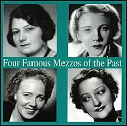 4 Famous Mezzos of Past