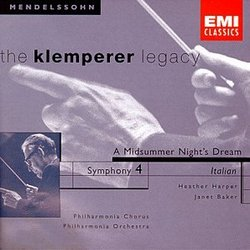 Symphony 4 / Midsummer Night's Dream Overture