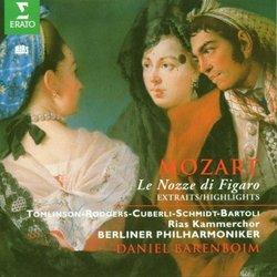 Mozart: Le nozze di Figaro / Barenboim [highlights]