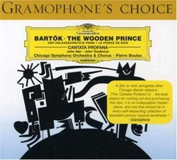 Béla Bartók: The Wooden Prince / Cantata Profana - John Aler / John Tomlinson / Chicago Symphony Orchestra & Chorus / Pierre Boulez