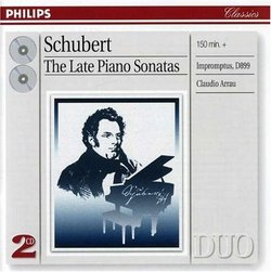 Schubert: The Late Sonatas & Impromptus [Germany]
