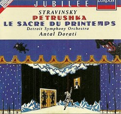 Stravinsky: Petrushka / Le Sacre du Printemps
