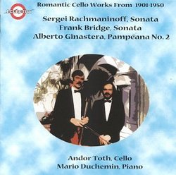 Romantic Cello Works from 1901-1950