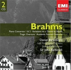 Brahms: Piano Concertos Nos. 1 & 2; Haydn Variations; Tragic Overture; Academic Festival Overture