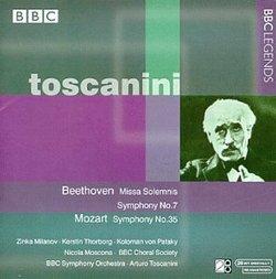Beethoven: Missa Solemnis; Symphony No. 7;  Mozart: Symphony No. 35
