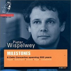 Milestones: 6 Cello Concertos spanning 200 years