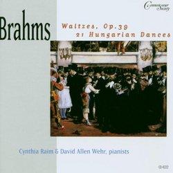 Brahms: Waltzes / Hungarian Dances