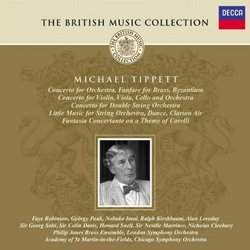 Tippett: Orchestral Works