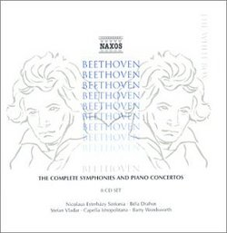Beethoven: The Complete Symphonies and Piano Concertos [Box Set]