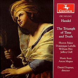 Handel: The Triumph of Time and Truth - Music from Aston Magna