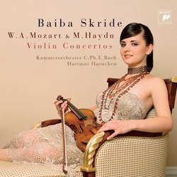 W. A. Mozart & M. Haydn Violinkonzerte