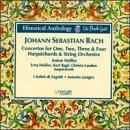 J.S. Bach: Concertos for 1, 2, 3 & 4 Harpsichords & String Orchesra