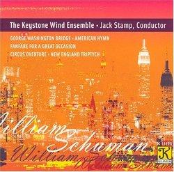 William Schuman: George Washington Bridge; American Hymn; Fanfare for a Great Occasion; etc.