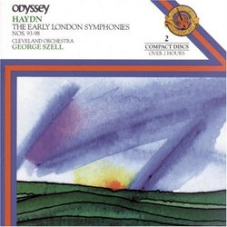 Early London Symphonies (#93-98)