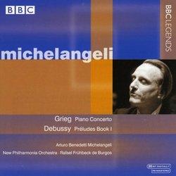 Michelangeli Plays Grieg & Debussy