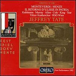 Monteverdi/Henze - Il ritorno d'Ulisse in Patria / Tate