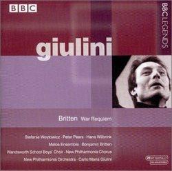 Britten: War Requiem / Giulini, New Philharmonia Orchestra