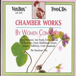 Chamber Music By Women Composers